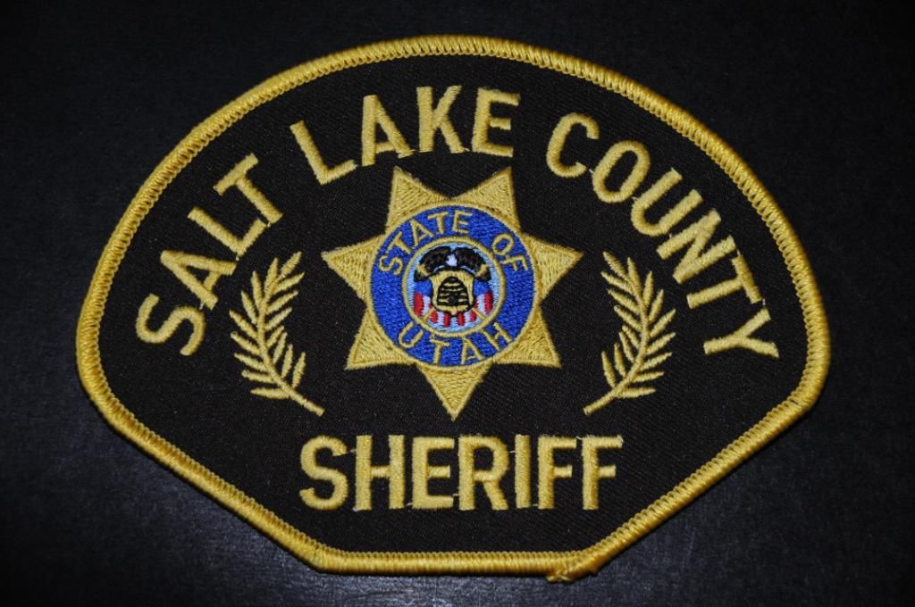 Salt Lake County Sheriff Patch, Utah (Current Issue