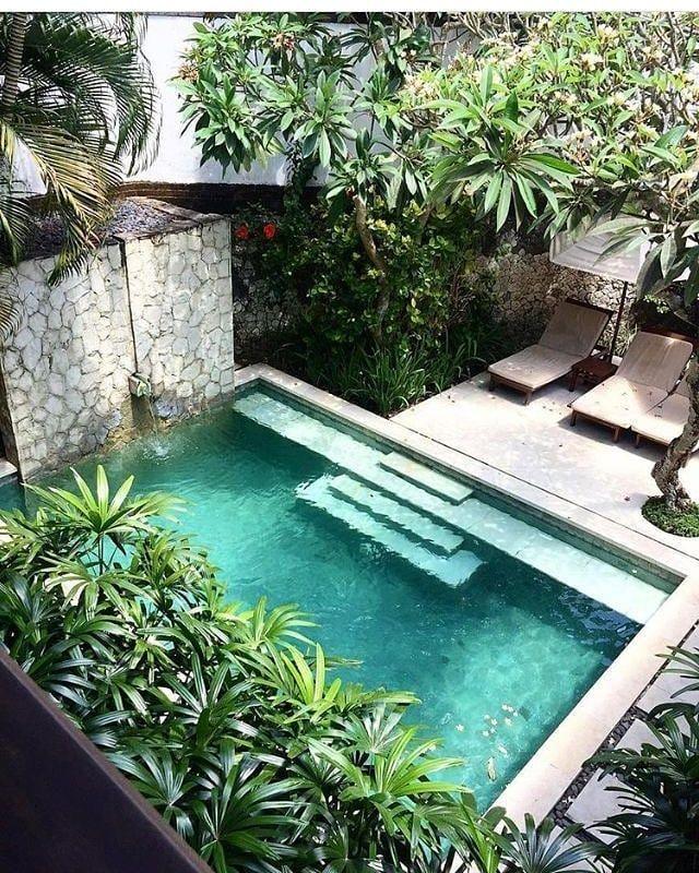 25 Beautiful Swimming Pool Garden Design Ideas Piscinas