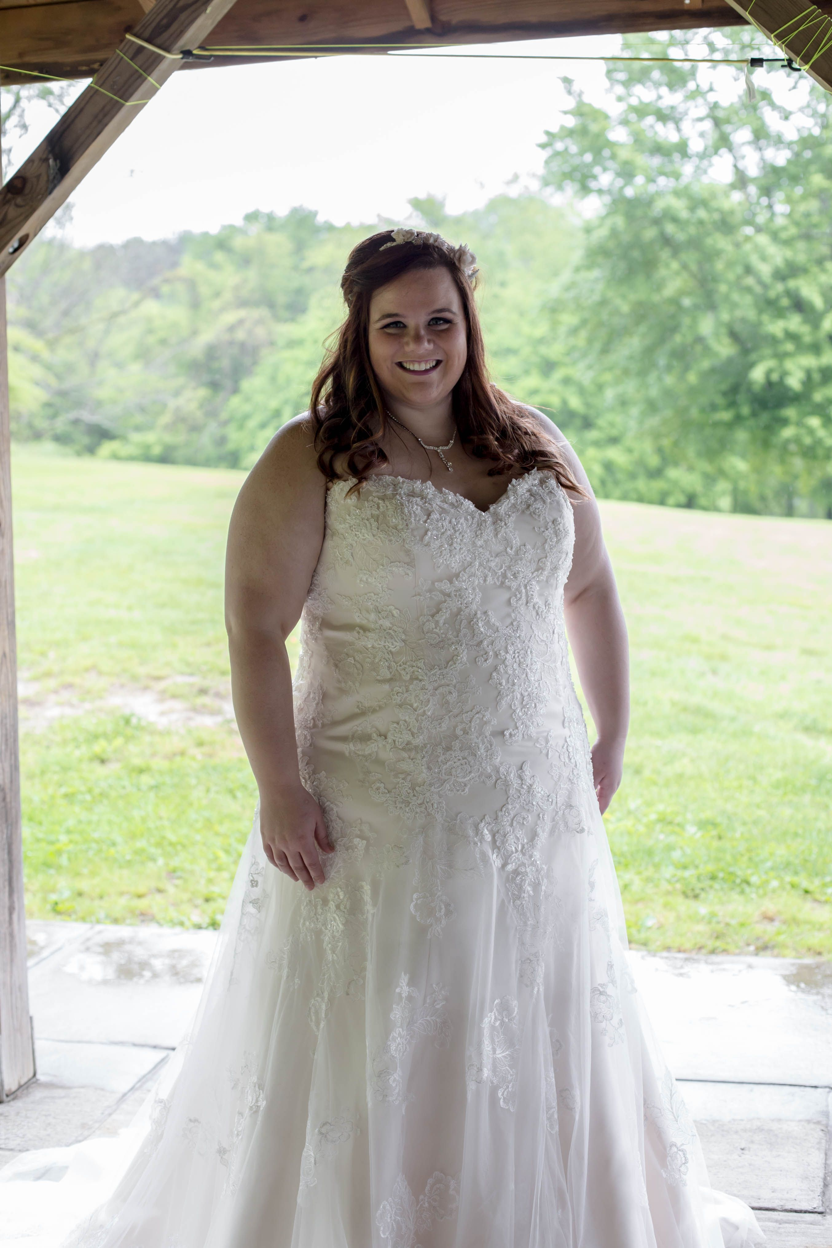 Wedding dresses stores  This gorgeous fitted dress is perfect for embracing your curves Try