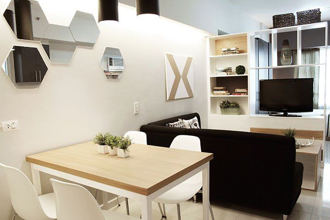 Small Space Ideas for a 34sqm Condo in Makati | Pinterest | Dining ...