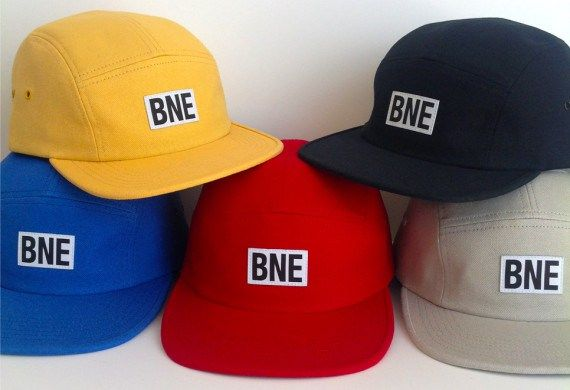 BNE WATER FOUNDATION – ORGANIC COTTON CAMP CAPS