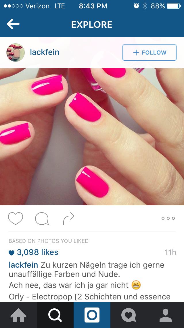 Orly Electropop | nail art | Pinterest