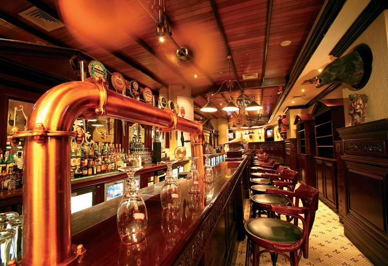 Unique restaurant designs in the heady world of bar and