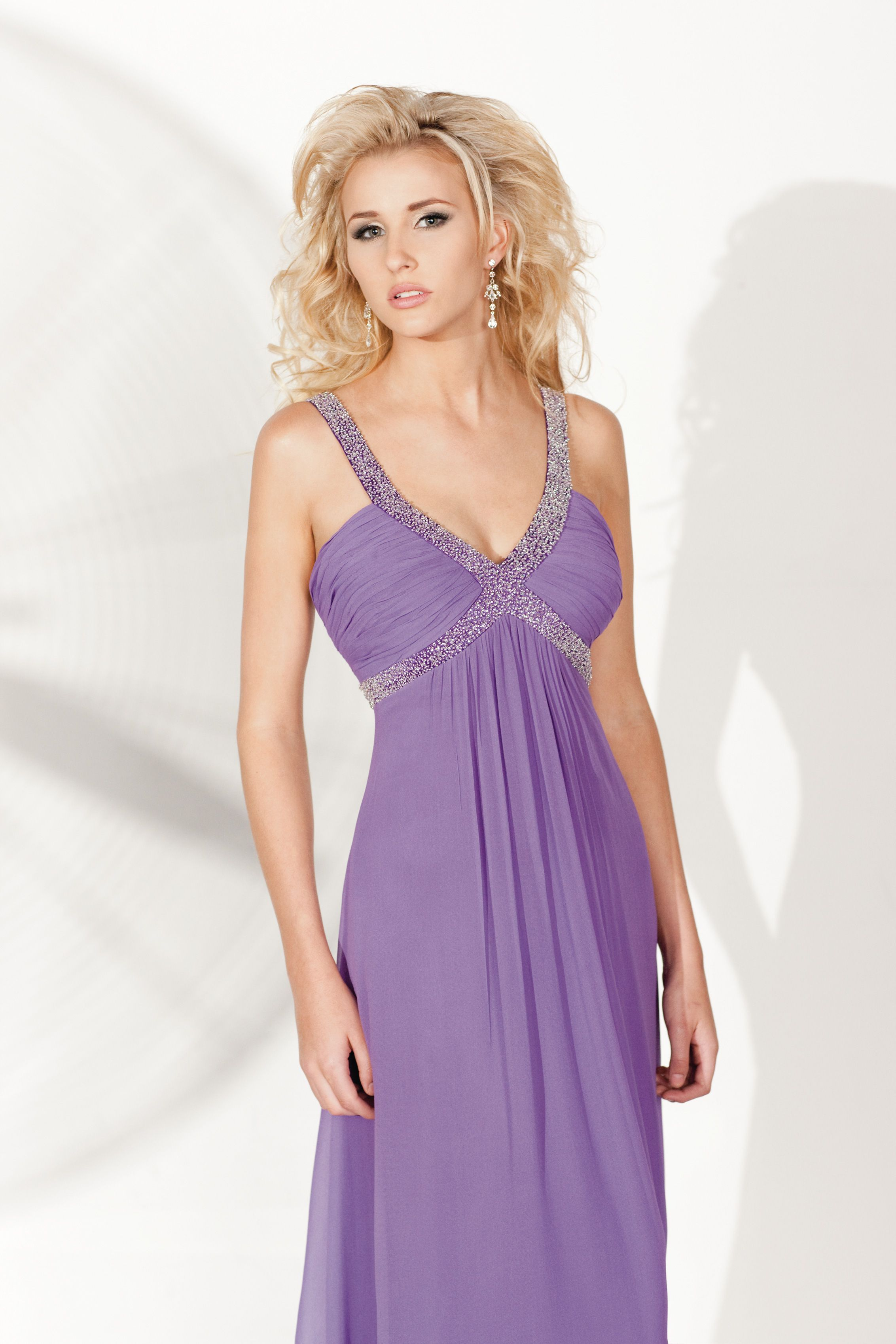 Lavender Bridesmaid Dress, very popular colour trend at the moment ...