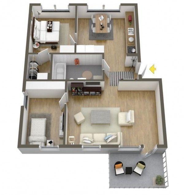 40 more 2 bedroom home floor plans interior design ideas