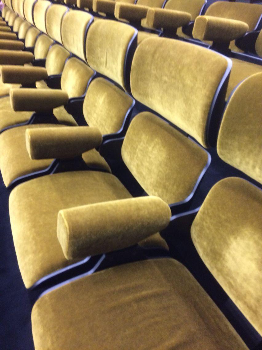 Cinema Seats At Fondazione Prada Cinema Chairs Cinema Seats