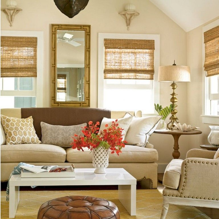 45+ Amazing Neutral Living Room Decorating Ideas