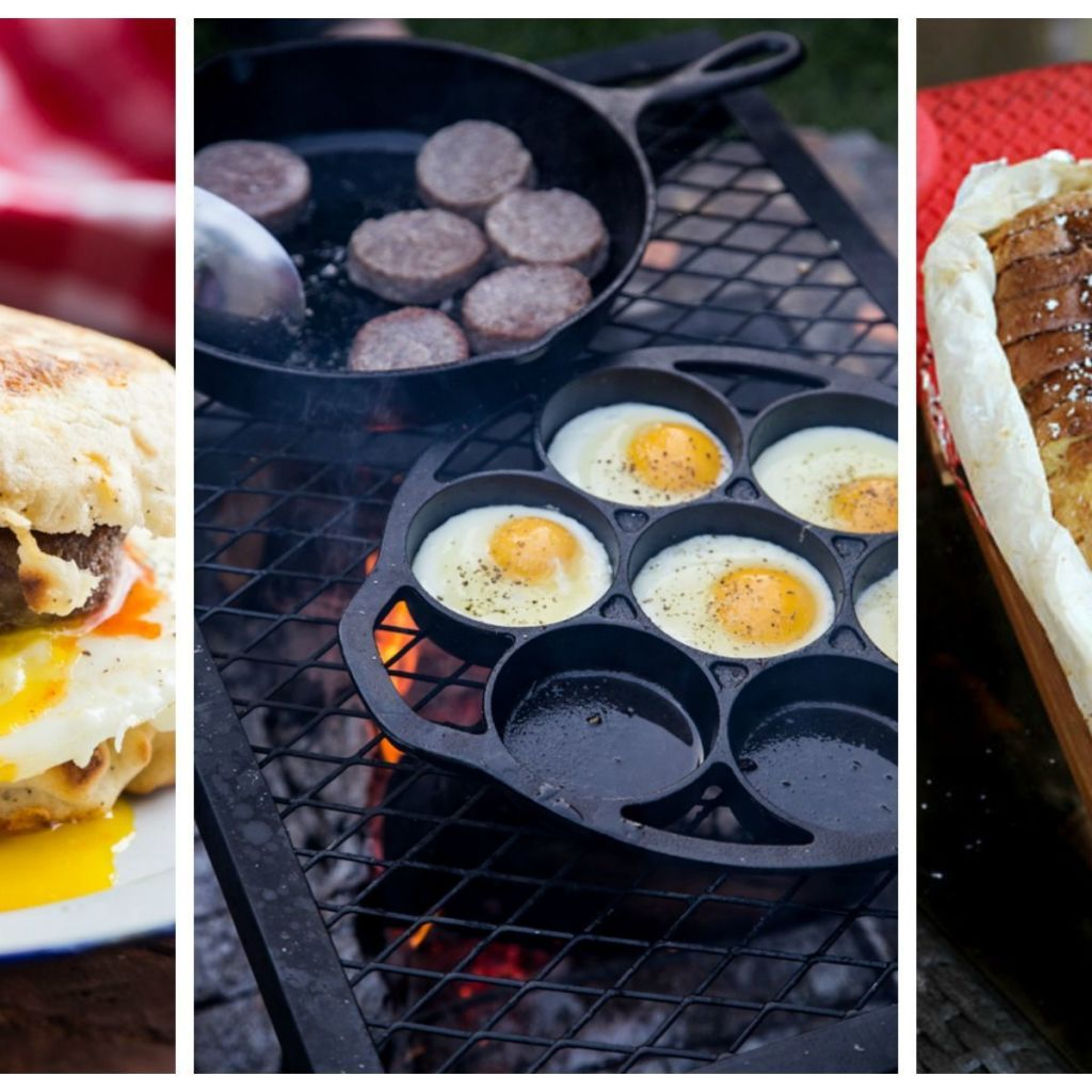 10 Camping Recipes And Ideas For Cooking Around The Campfire: 39 Easy Summer Campfire Recipes (That Aren't S'mores