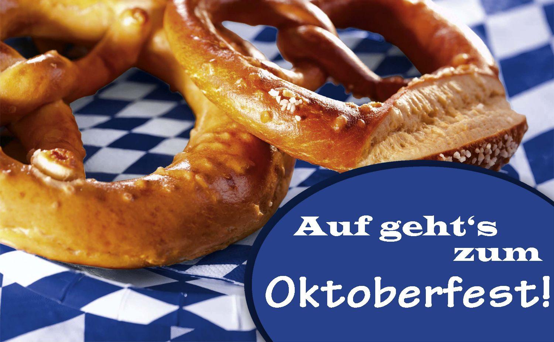 Partyzubehör in weiss + blau für ein bayerisches Oktoberfest ...