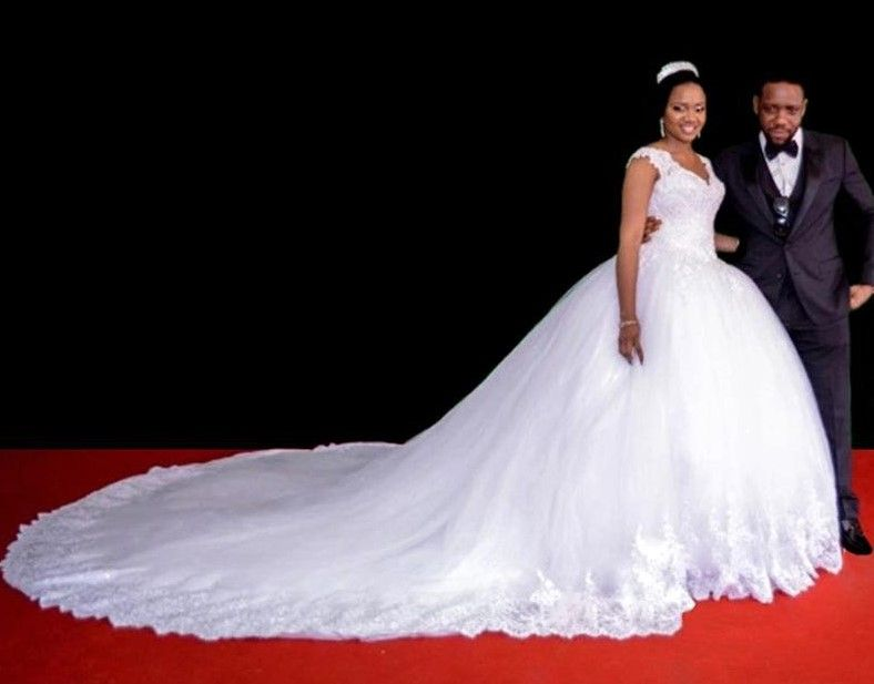 Image Result For Nigerian Wedding Dresses 2017 Wedding Dresses Latest Wedding Gowns Wedding Dress Cap Sleeves