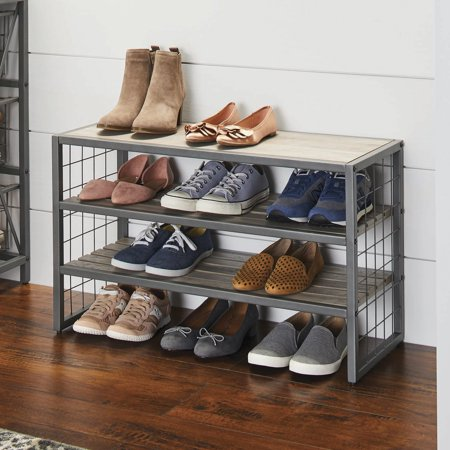 7489915839b09f944dda7a809fbee509 - Better Homes And Gardens 2 Tier Stackable Shoe Rack