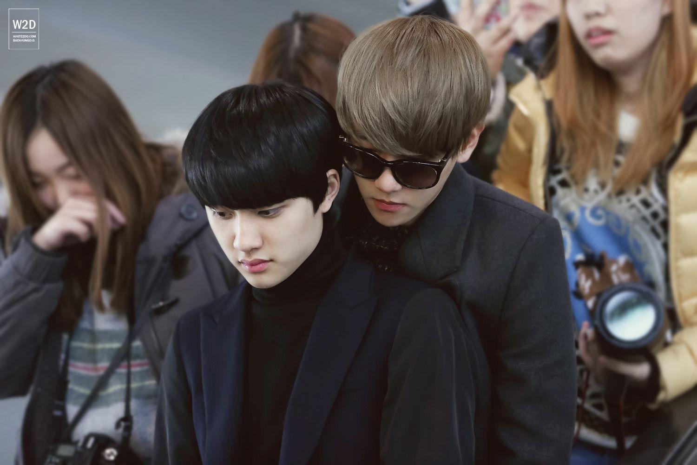 BaekDo   BaekSoo KyungHyun DOhyun ???? lol what is the ship name here?