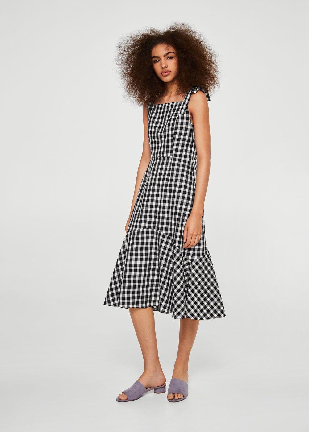 1535797b76de Gingham check cottoned dress - Women