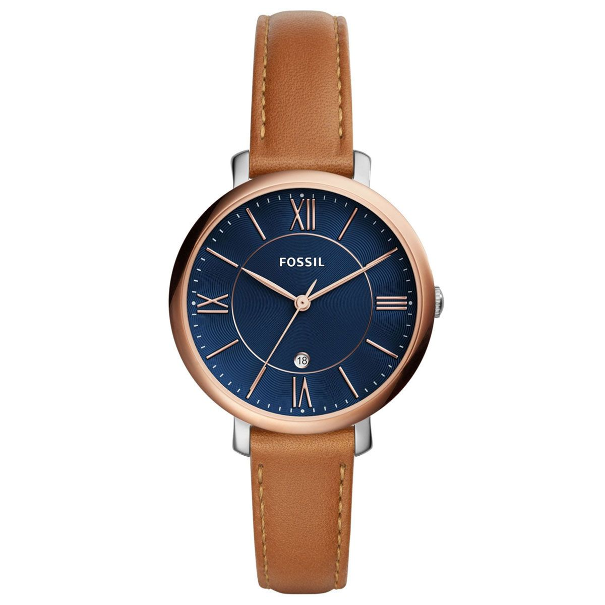 Fossil Fes4274 Bayan Kol Saati Saat Ve Saat Deri Saat Bayan Saatleri Deri