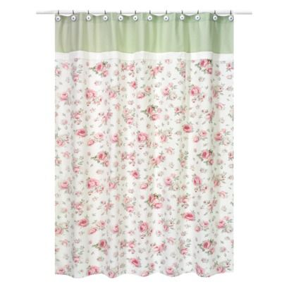 Riley's Roses Shower Curtain   72x72