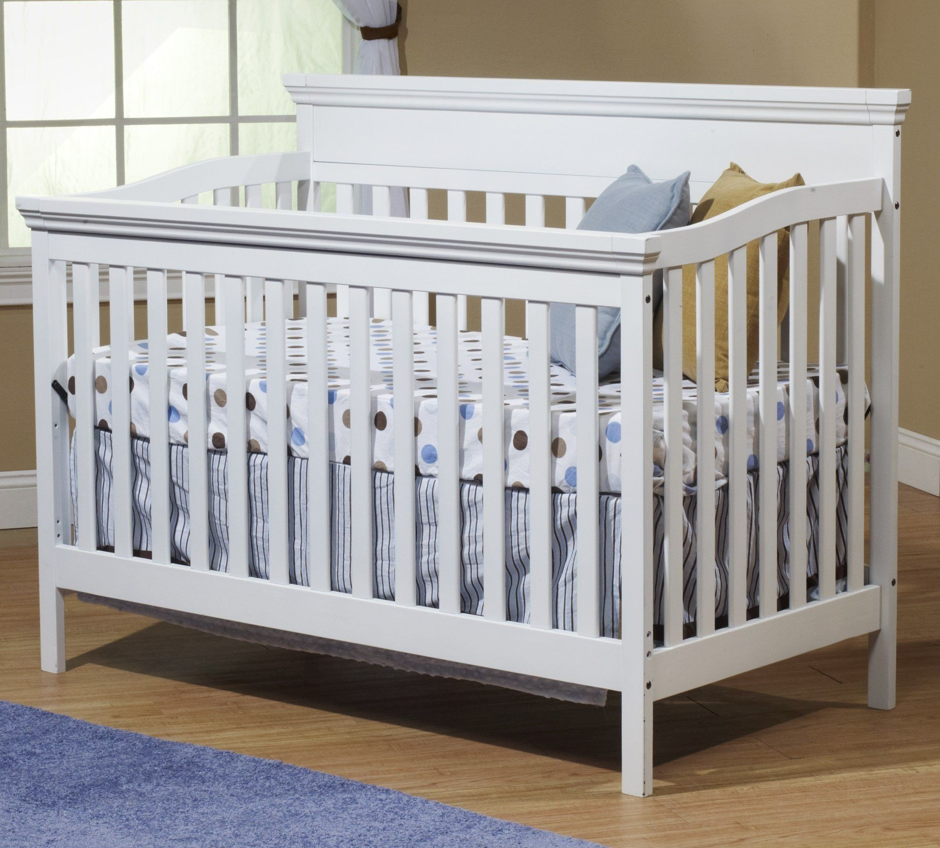 Crib heights for babies - Cribs