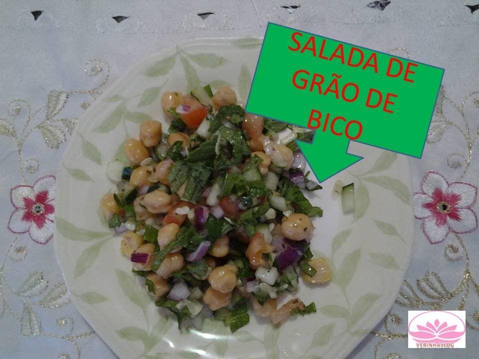 Salada de Grão de Bico muito saborosa e fácil de fazer.Venha conferir em meu canal mais receitas bem fáceis e rápidas de fazer.https://www.youtube.com/user/verinhasanthana