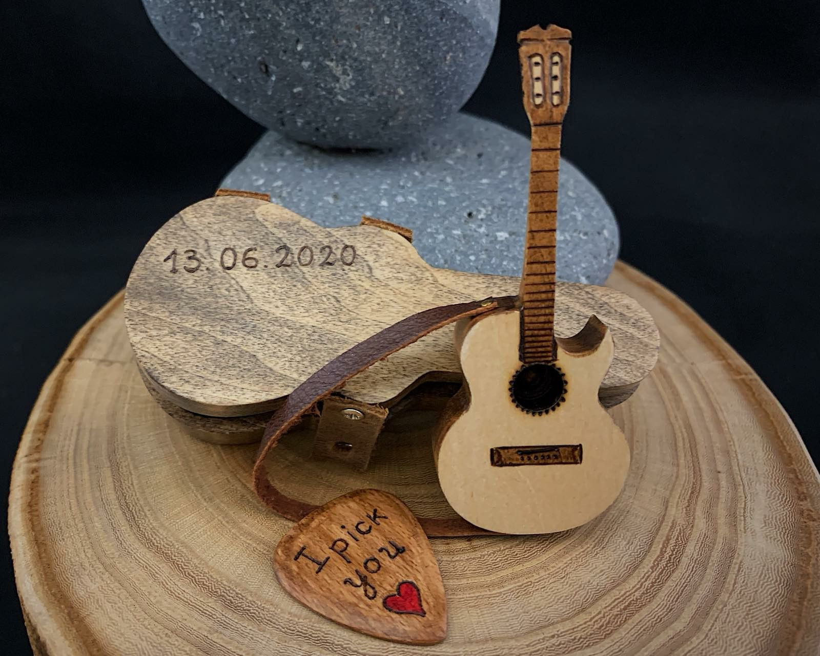 Acoustic Guitar Christmas Gift Idea For Musicians Guitar Gifts For Men Gift For Music Lovers Miniature Music Instruments Music Decor Gift For Music Lover Guitar Lover Gifts Guitar Gifts