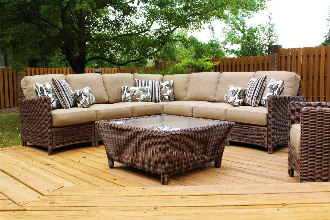 76600 Del Ray Sectional. | Outdoor wicker furniture ...