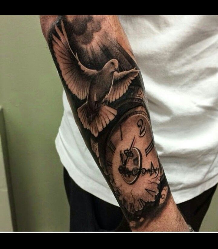 Dove arm tattoo.!!! | Arm tattoos | Pinterest | Arm tattoo ...