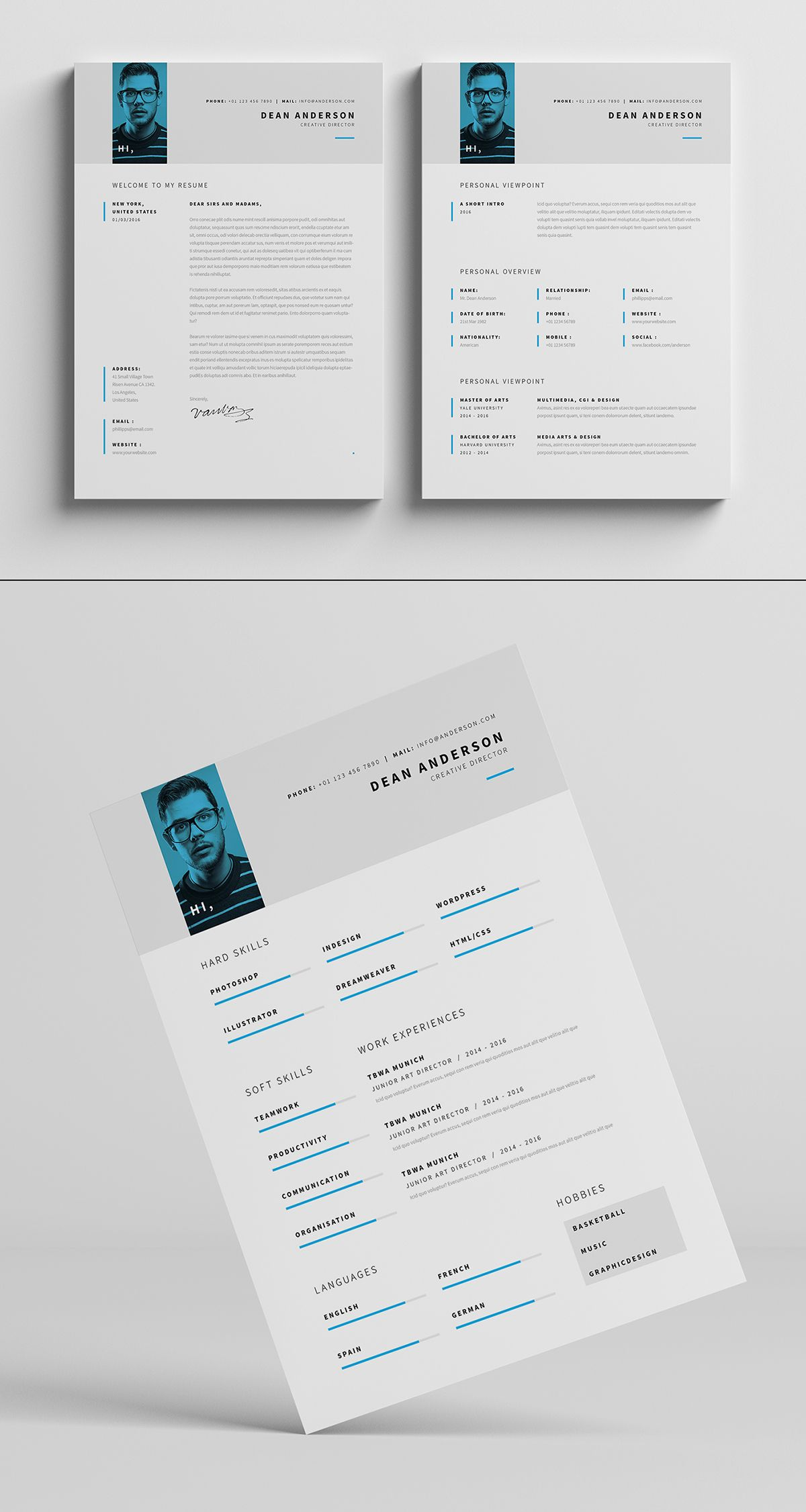 minimal resume    cv    curriculum vitae    7 pages  copy  on