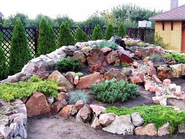 20 Blooming Rock Garden Design Ideas and Backyard Landscaping Tips is part of Contemporary Rock garden - Planting a rock garden is a great alternative to the traditional flower beds and vegetable gardens