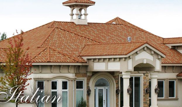 Stone Coated Steel Roofing Stone Coated Metal Tile Decra Roofing Systems General Roofing Systems Canada Grs Www G Decra Roofing Roofing Roofing Systems
