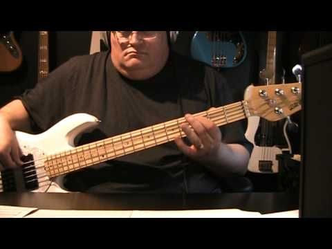 Enrique Iglesias Bailando Bass Cover with Notes & Tablature - YouTube