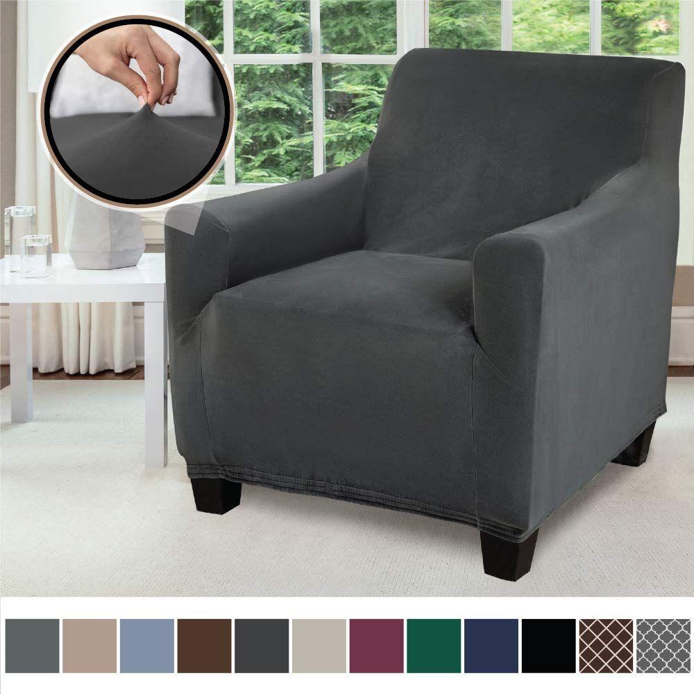 Gorilla grip original fitted velvet 1 piece chair