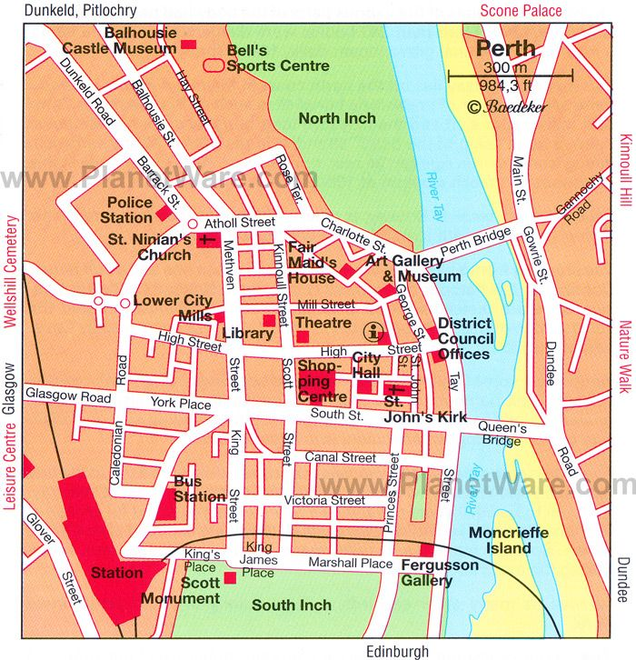 Map of Perth city centre The Area We Live In Pinterest Perth