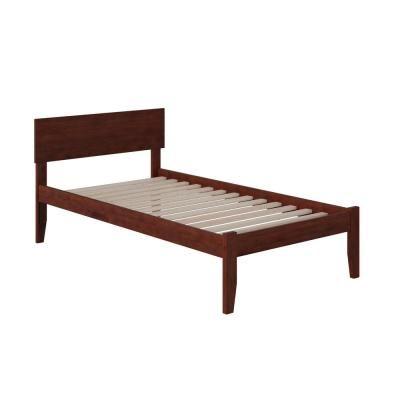 Atlantic Furniture Orlando Walnut Twin Xl Platform Bed With Open