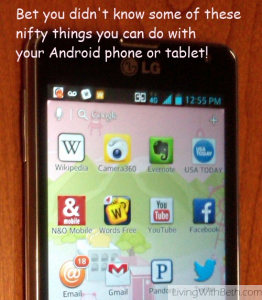 5 Great Android Phone Tips Such As How To Take A Screen Shot Lock