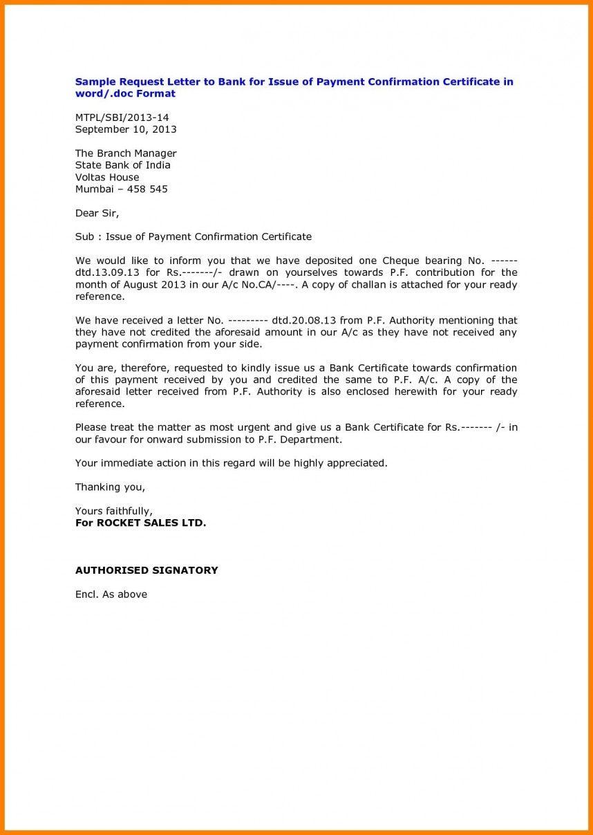 Pdf Doc Free Premium Templates Confirmation Letter Lettering Receipt Template