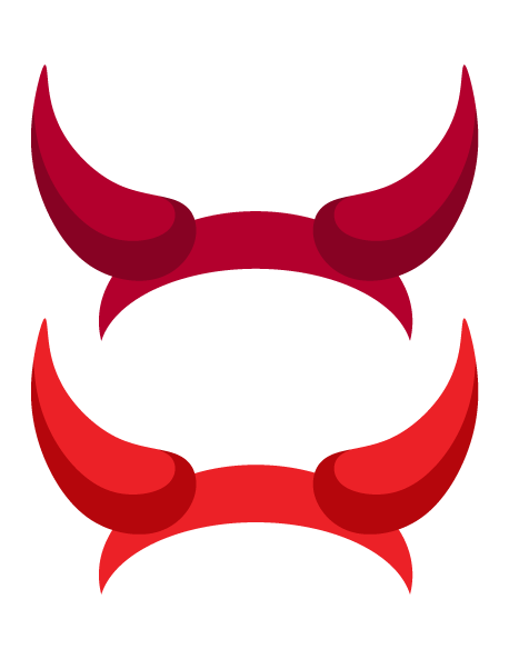 printable devil horns photo booth prop create diy props with our rh pinterest com