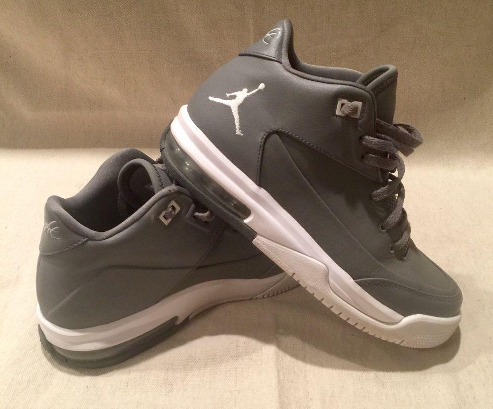 aa30d71d3c2 Jordan FLIGHT ORIGIN 3 BG Grey Gray Boys Basketball Shoes 820246-003 Size 5  Y