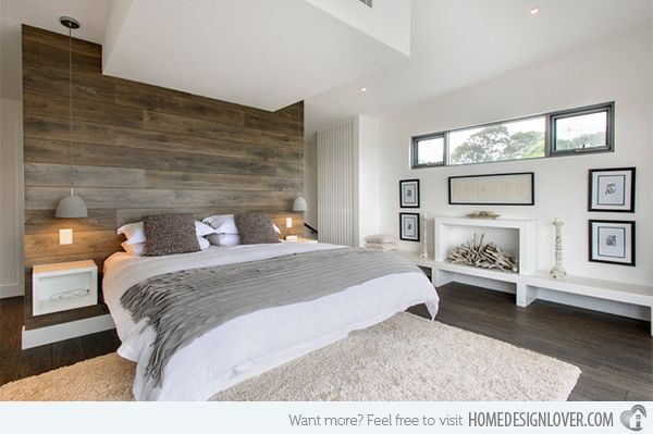 20 Bedrooms With Wooden Panel Walls Home Design Lover Wood
