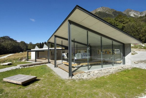 Routeburn Shelter in New Zealand Shelter, Architecture and Architects