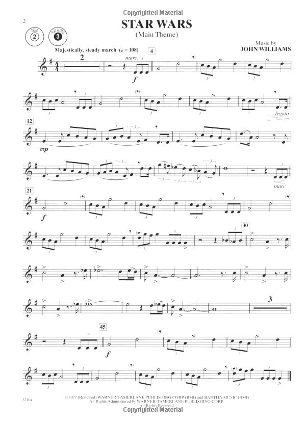All Music Chords star wars sheet music : Amazon.com: Star Wars Instrumental Solos (Movies I-VI): Clarinet ...