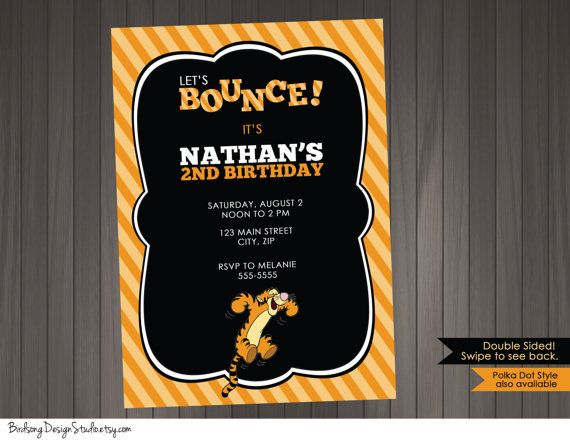 Tigger birthday invitation boys printable tigger birthday invitation tigger birthday invitation boys printable tigger birthday invitation filmwisefo