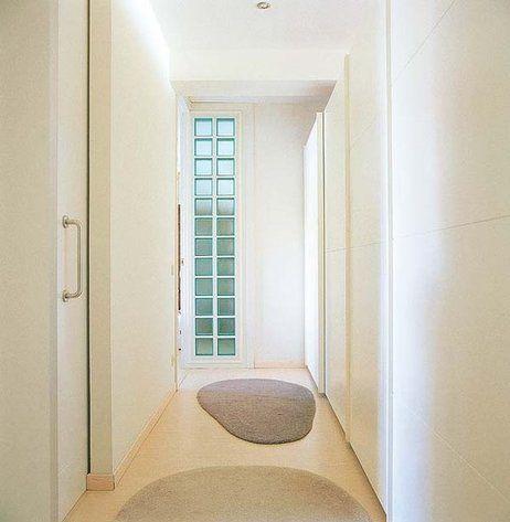 Un piso luminoso y di fano pasillos armario y pisos - Armarios para pasillos ...