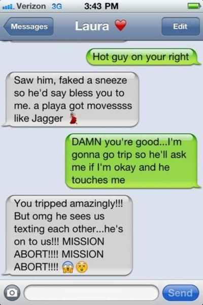Hilarious!! Sounds like something my best friend and I would do..