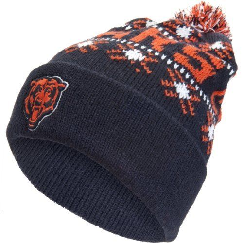 06442707 Chicago Bears - Logo Tip Off Knit Hat Old Glory. $22.00 | Sports ...