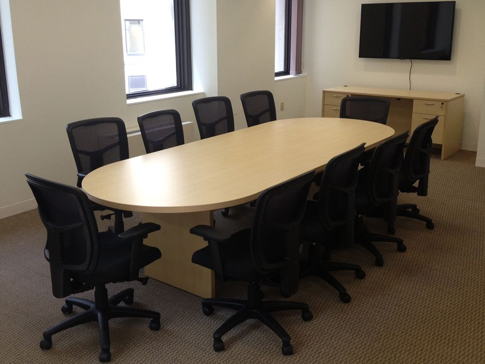 Racetrack Conference Table X Racetrack Conference Table - 10 x 4 conference table