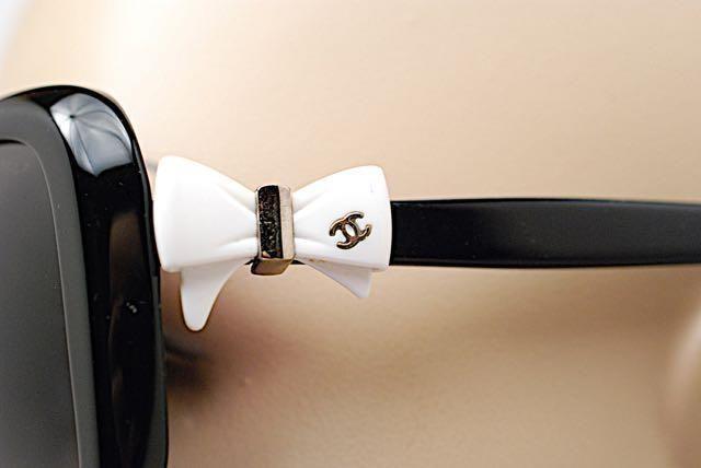 d38e88929d CHANEL 5171 BOW TIE RIBBON SUNGLASSES CC LOGO BLACK SQUARE  Chanel   Sunglasses