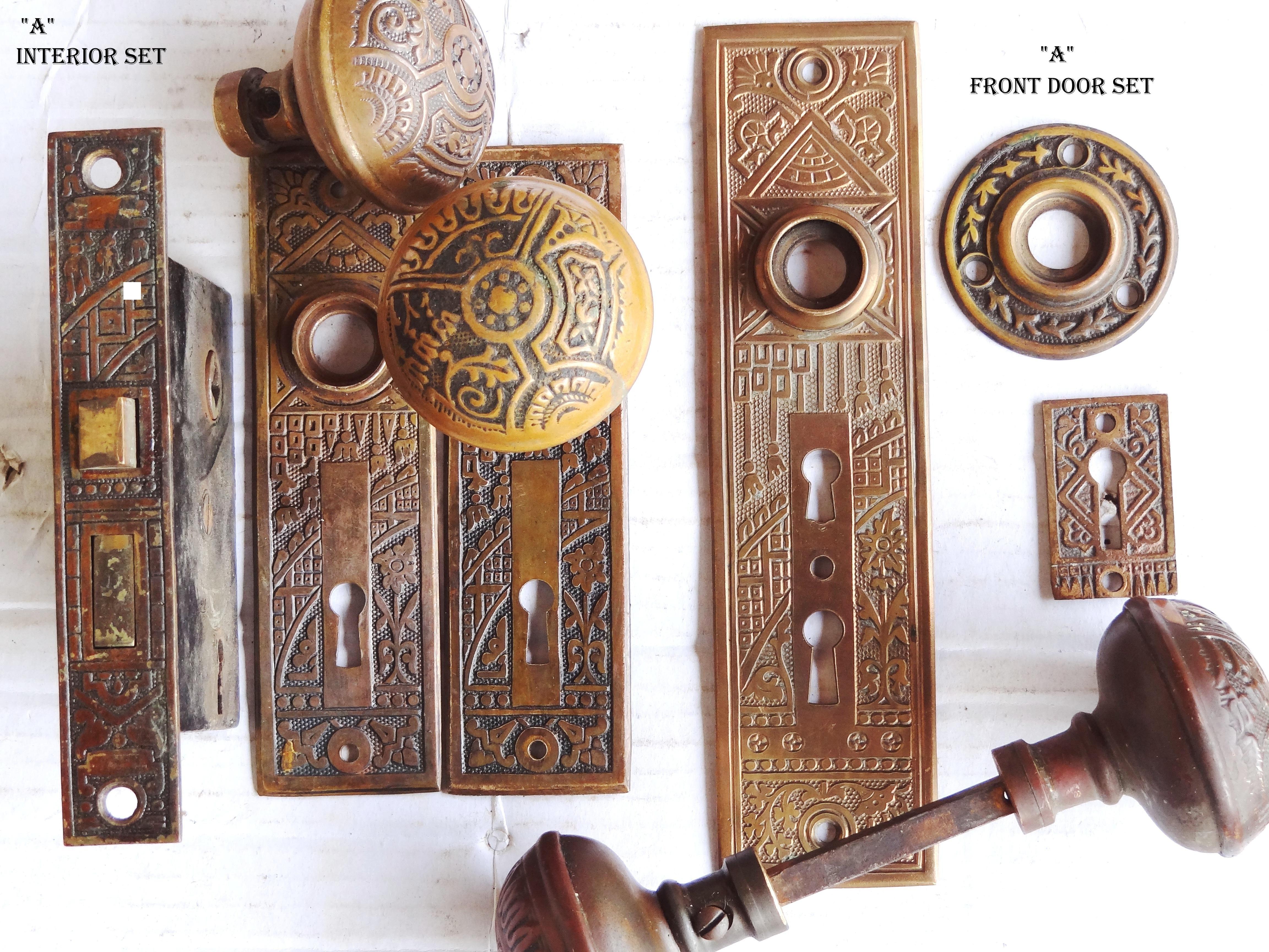 Antique door plates and knobs retrocomputinggeek