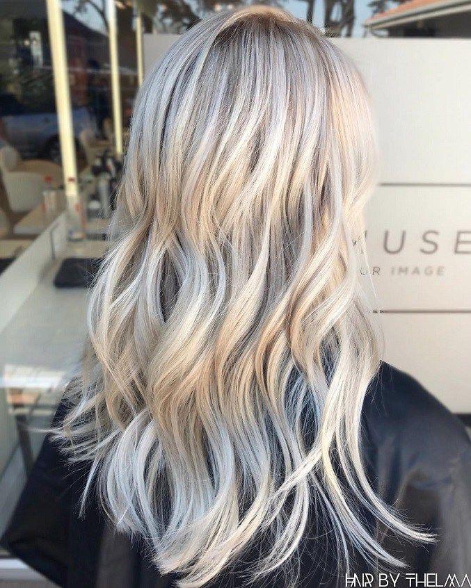 Milky Blonde Hair Color Ideas Blonde Hair Color Summer Blonde Hair Balayage Hair
