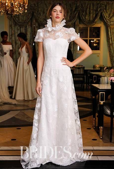 Delphine Manivet Wedding Dresses Spring 2017 Bridal Fashion Week Brides
