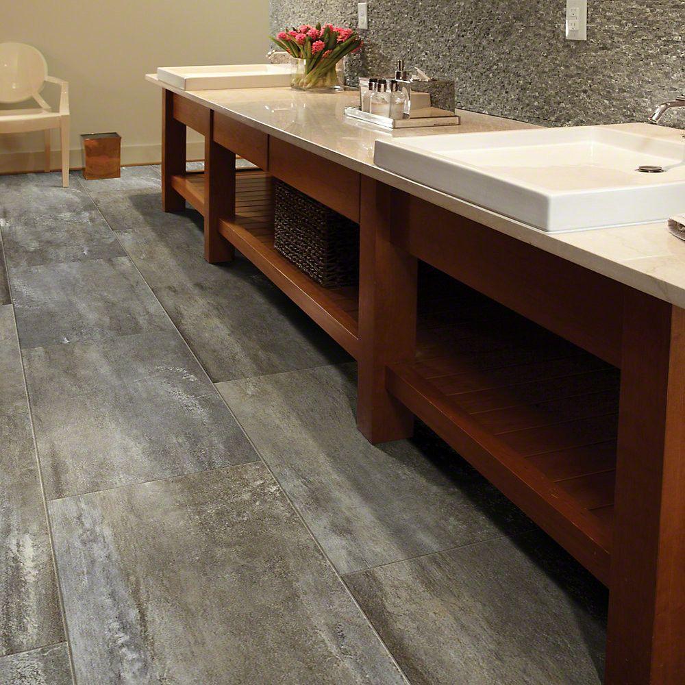 "12x24 Tile Patterns For Bathrooms: Shaw Floors Easy Vision 12"" X 24"" X 4mm Luxury Vinyl Tile"