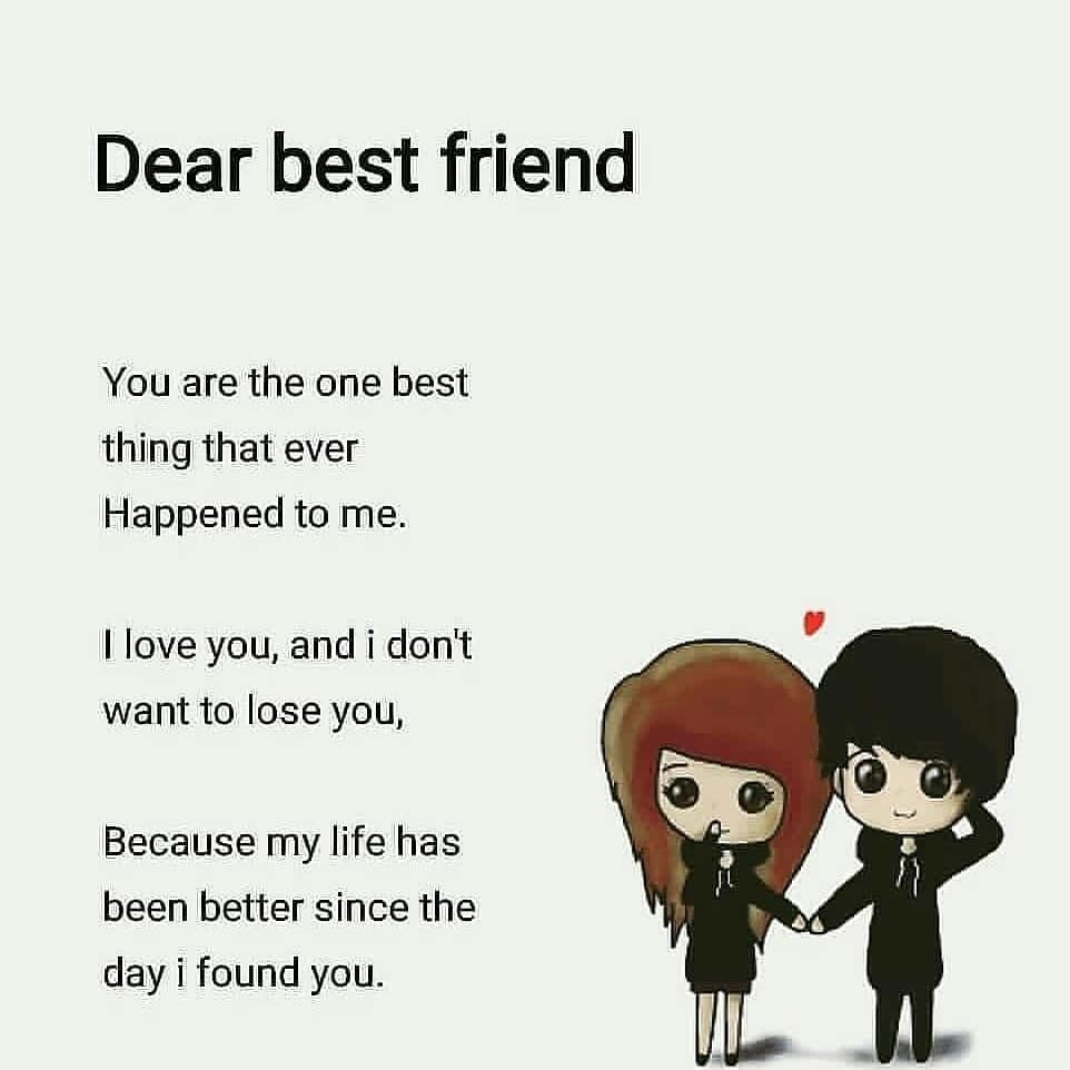 Dear Best Friend Pictures Photos And Images For Facebook Tumblr Pinterest A Happy Birthday Best Friend Quotes Friends Quotes Funny Friend Quotes For Girls