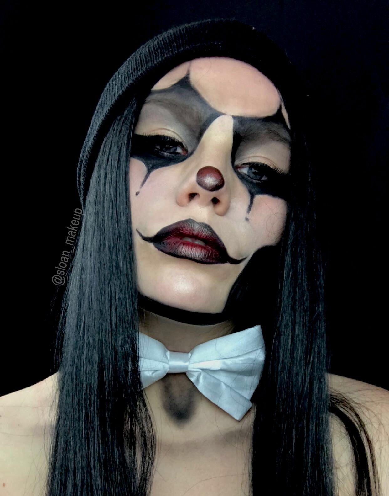 Gangster clown makeup d5cc93c12185